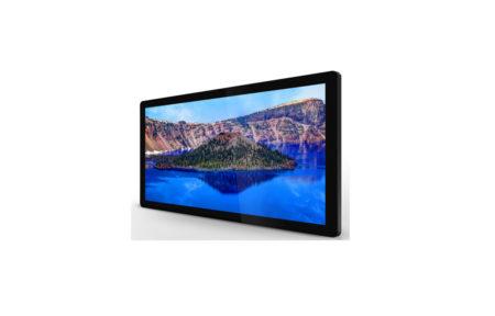 タッチパネルデジタルサイネージ商品仕様|PF32H8C|静電容量方式|全面強化ガラス付