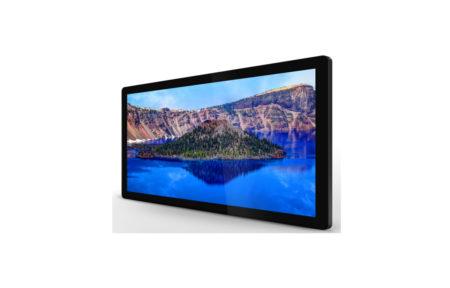 タッチパネルデジタルサイネージ商品仕様|PF43H8C|静電容量方式|全面強化ガラス付