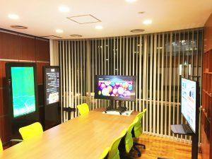 デジタルサイネージのGoodviewJapan青山ショールーム