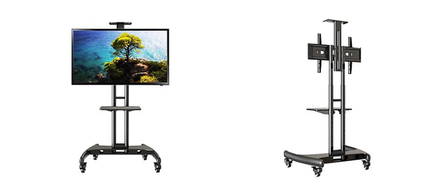 テレビや電子黒板に最適のモニタースタンド32~65インチ