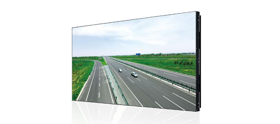 狭額縁の大型ビデオウォールディスプレイ55インチ