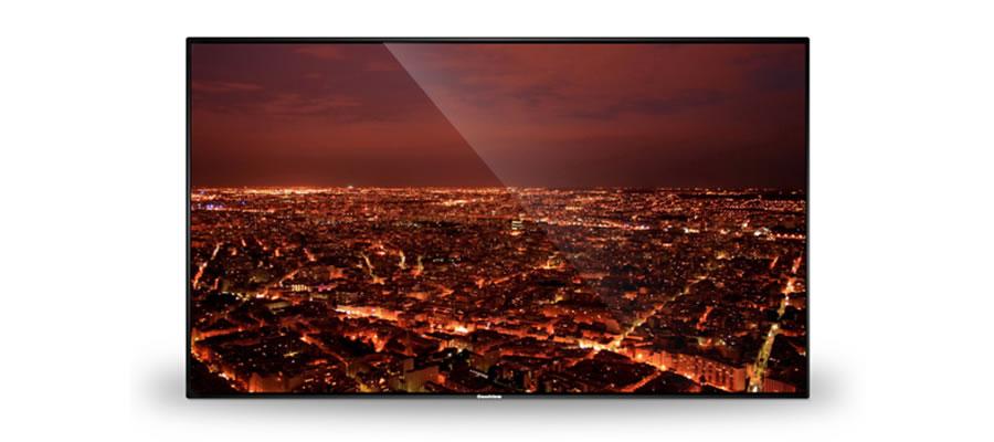 狭額縁の壁面広告用ディスプレイ55インチ